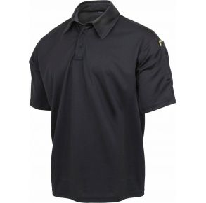 Rothco Mens Tactical Performance Polo Shirt - Black - Size 3XL Front View